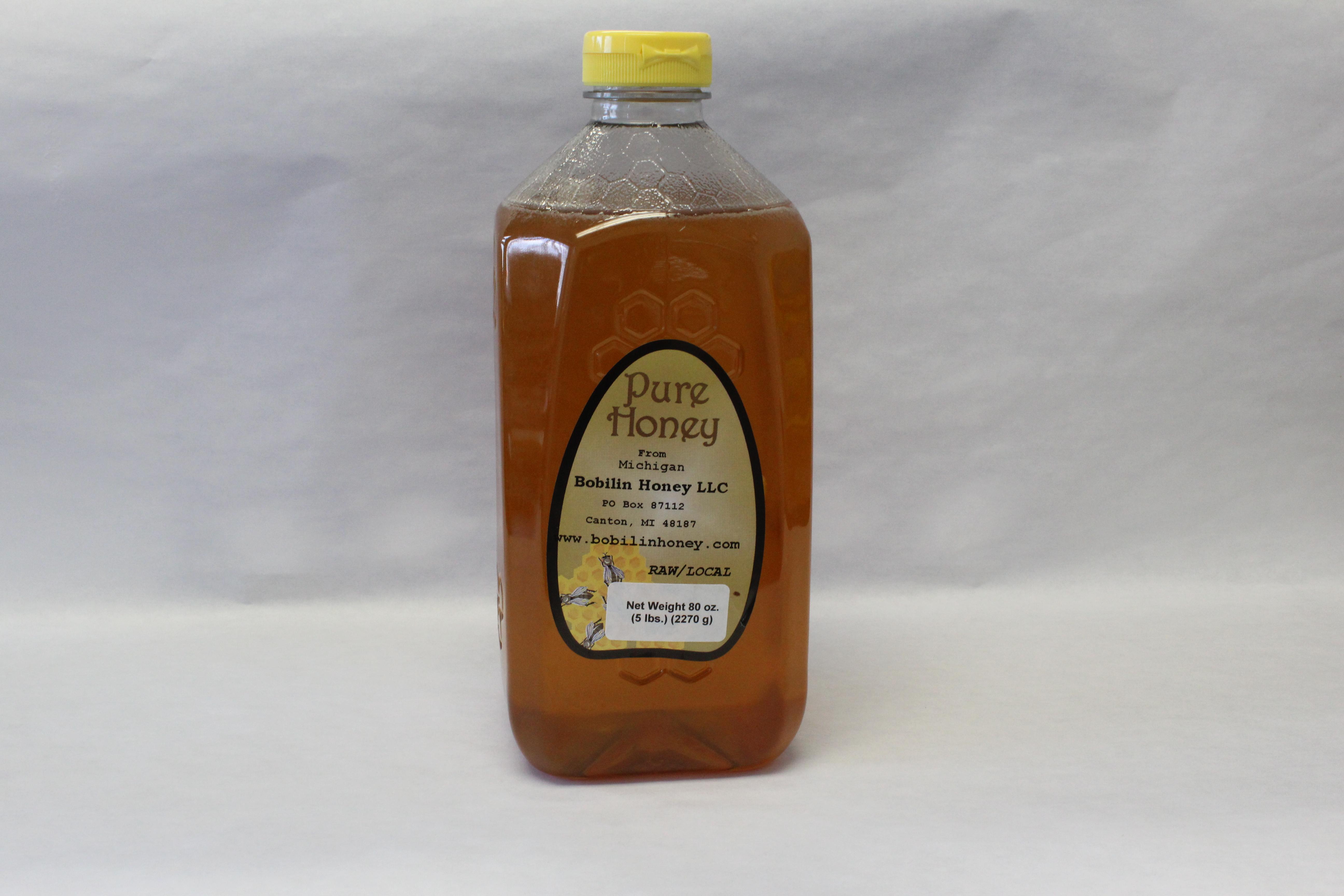 Wildflower Honey – 5lb Squeeze Bottle (Pick Up)