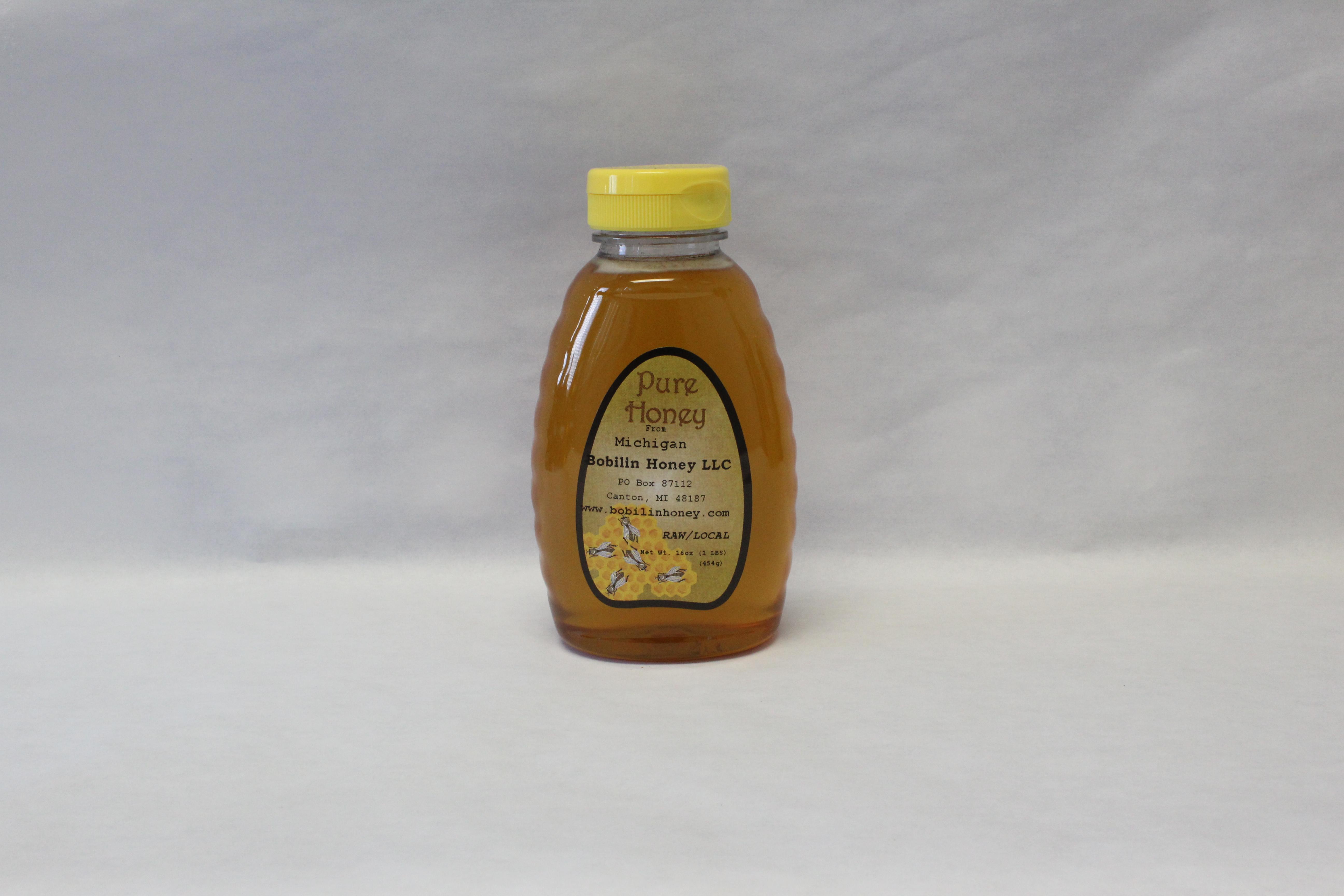 Wildflower Honey – 1lb Squeeze Bottle (Pick Up)