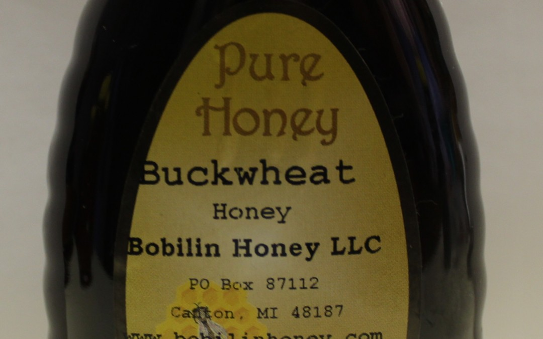 Buckwheat Honey – 1lb Squeez Bottle (Pick Up)